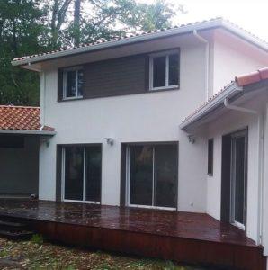 peintre façade maison extérieur
