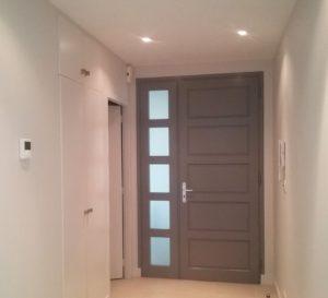 peintre porte d'entrée maison appartement