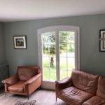 peinture mur plafond salon